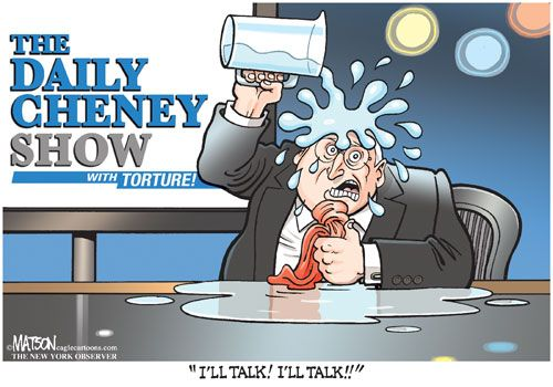 Dick Cheney Cartoons.