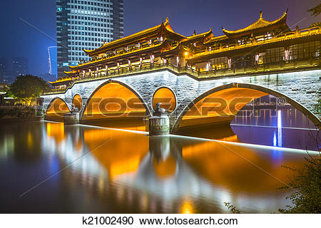 Stock Photography of Chengdu Bridge k21002490.