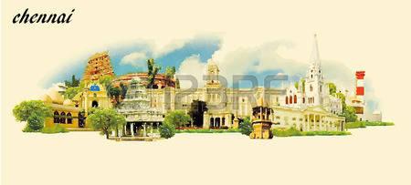 123 Chennai Travel Cliparts, Stock Vector And Royalty Free Chennai.