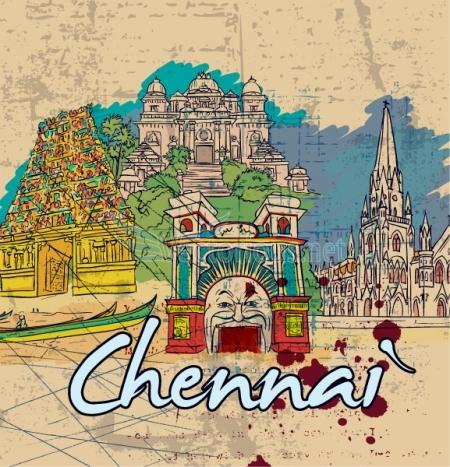 Chennai clipart.