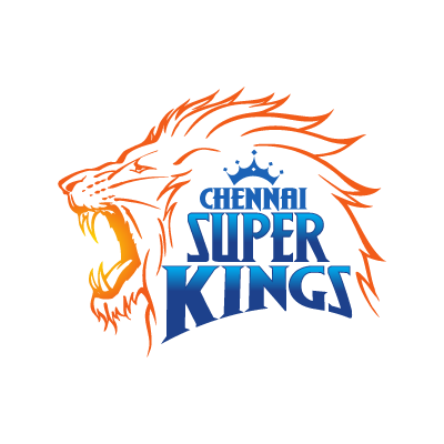 Chennai Super Kings vector logo.