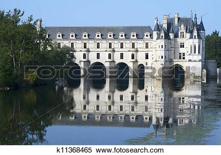 Stock Image of Chenonceau k11368465.