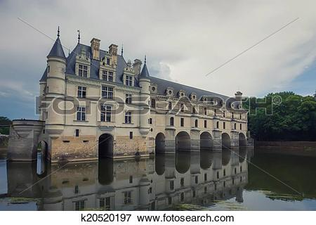 Picture of Chateau de Chenonceau k20520197.