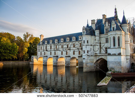 Chenonceau Stock Photos, Royalty.