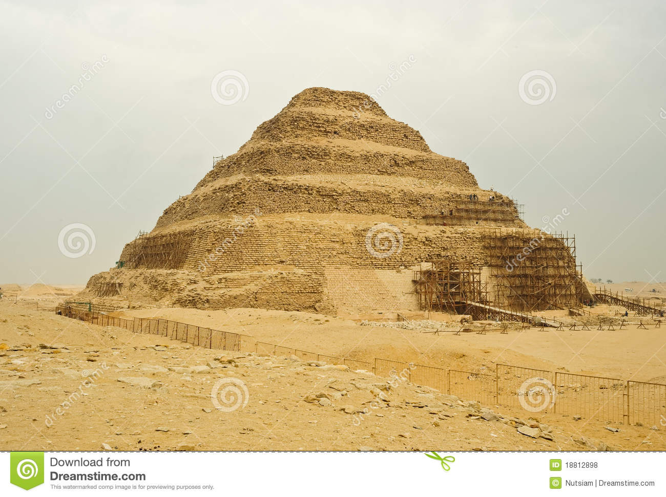 The Great Pyramid Of Khufu (Cheops).