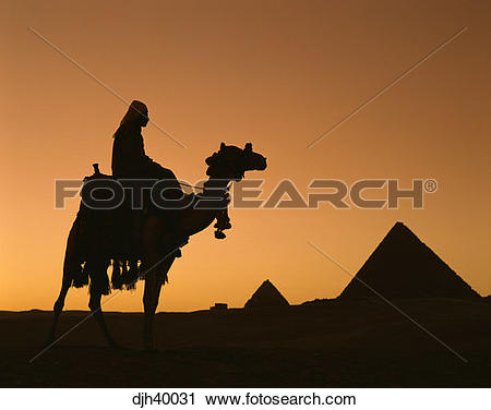 Stock Photography of Egypt, Cairo, Giza, Mycerinus, Chephren.