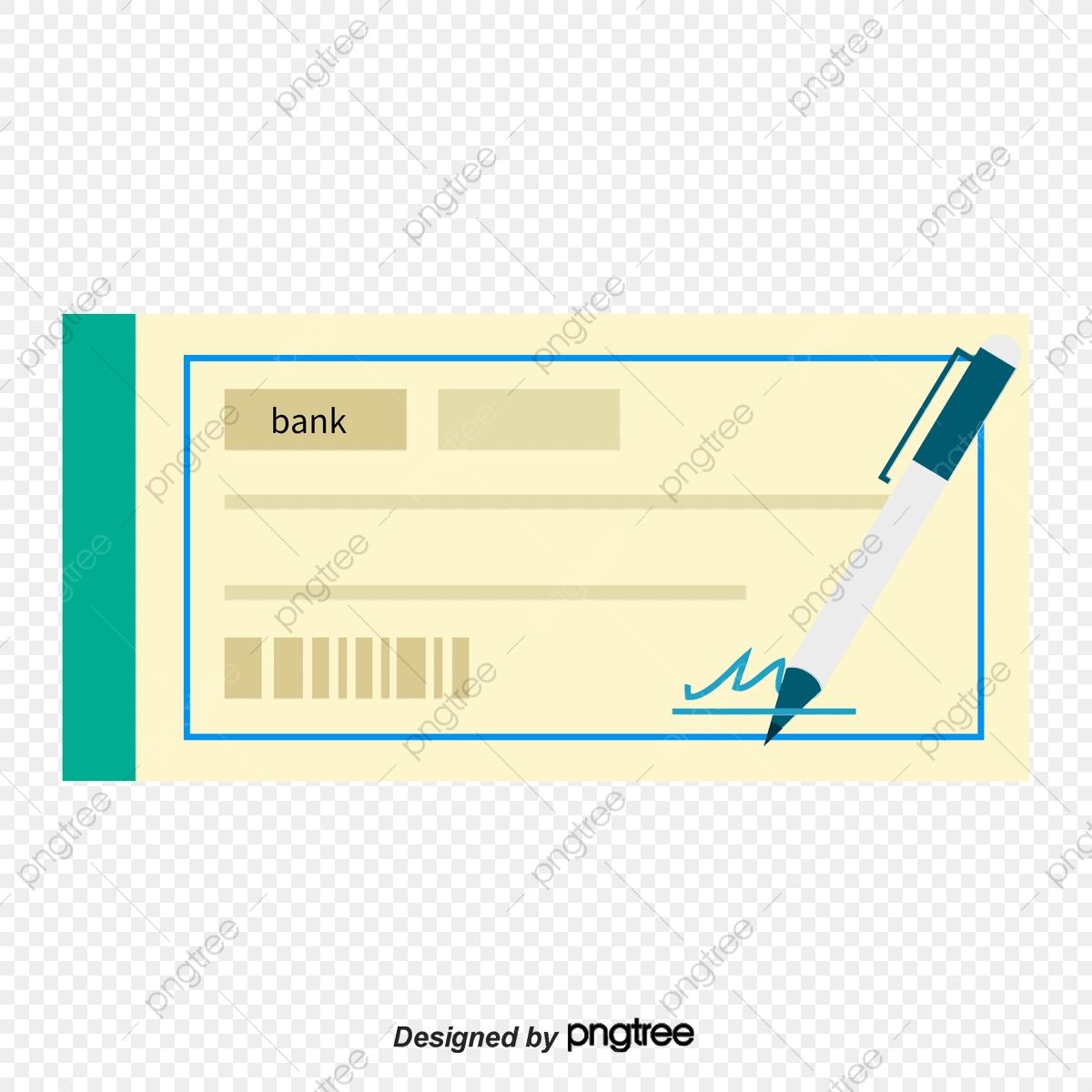 Blue Cheque Book, Vector Png, Check, Blue Check PNG and Vector with.