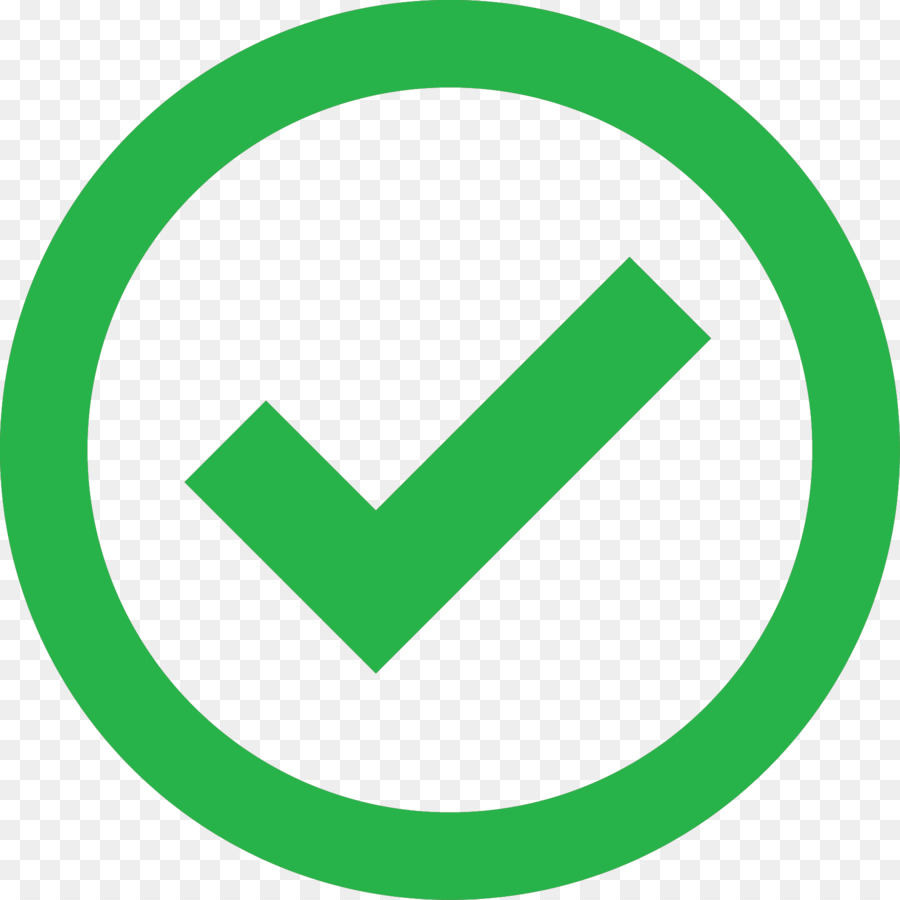 Green Check Mark png download.