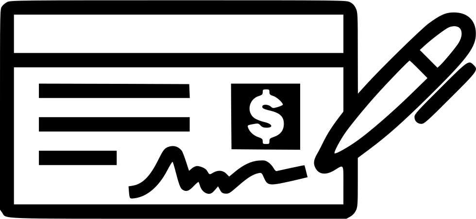 Cheque Svg Png Icon Free Download (#456129).