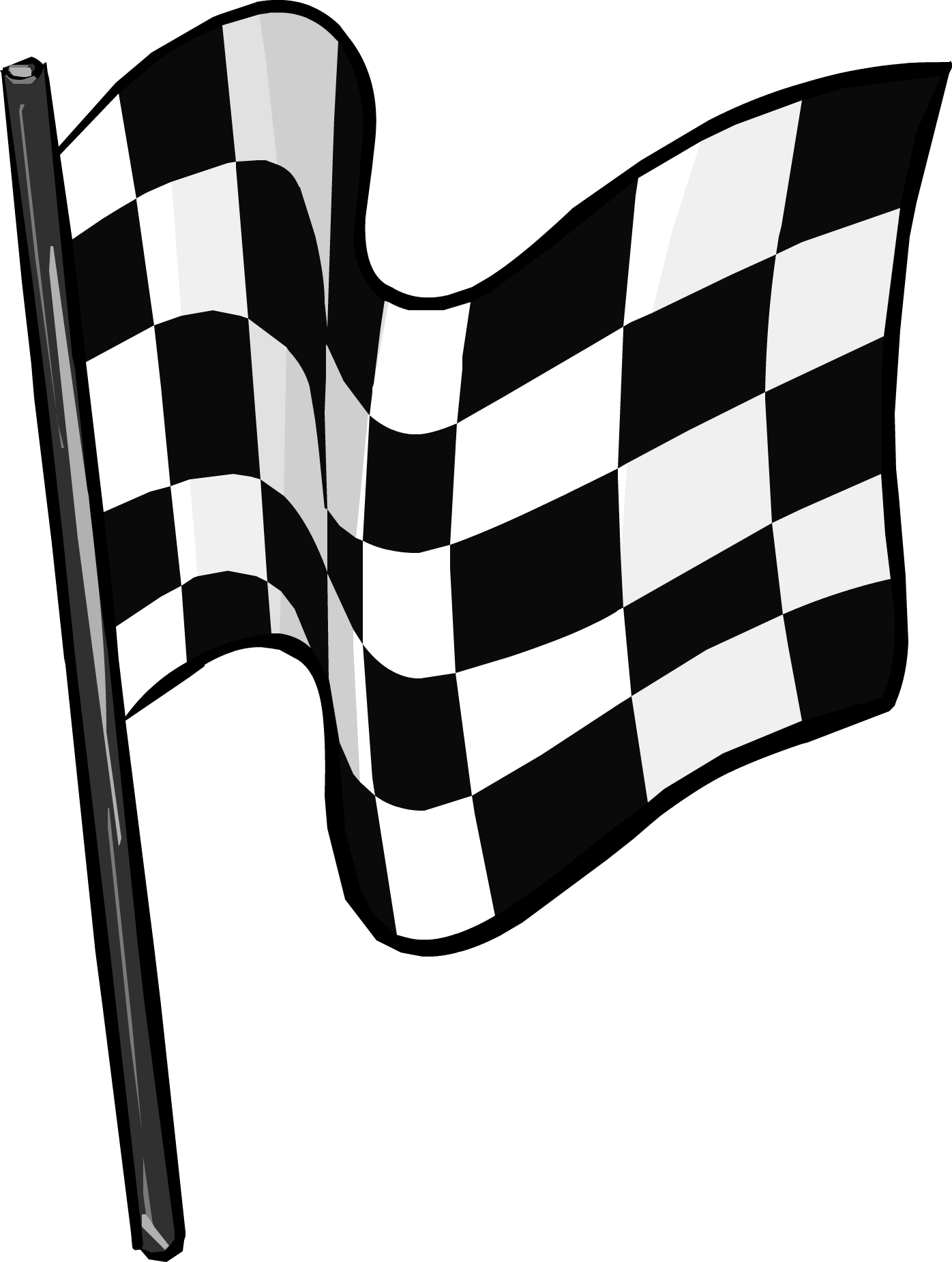 Checkered Flag Icon.