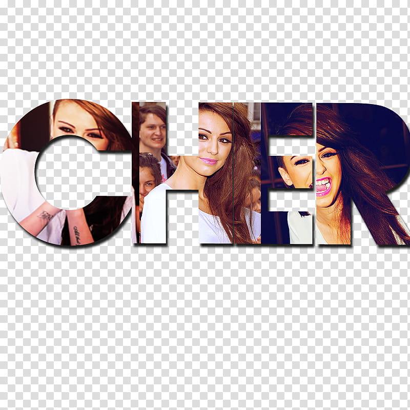 Cher Lloyd Text, Cher logo transparent background PNG.