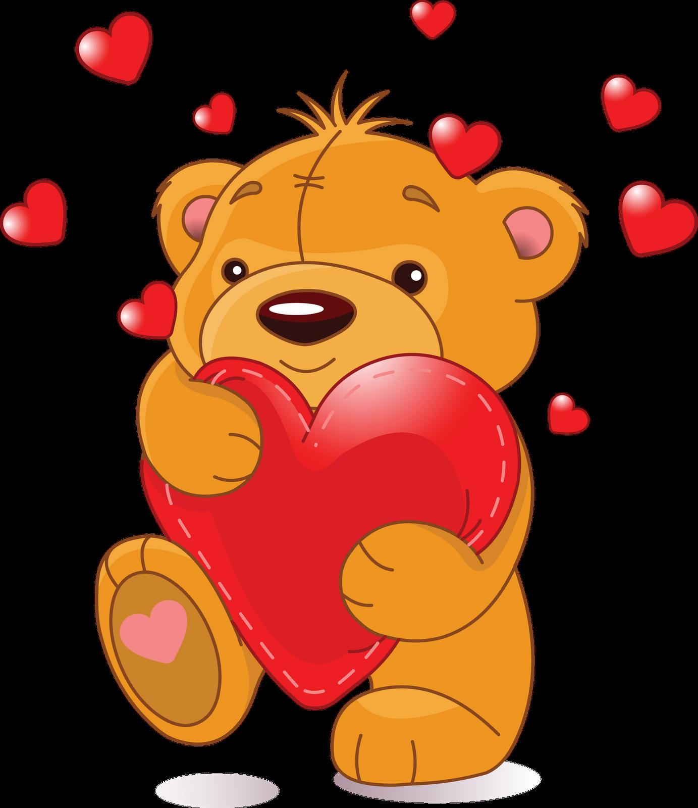 Clip Art Love Teddy Bear Hug Clipart.