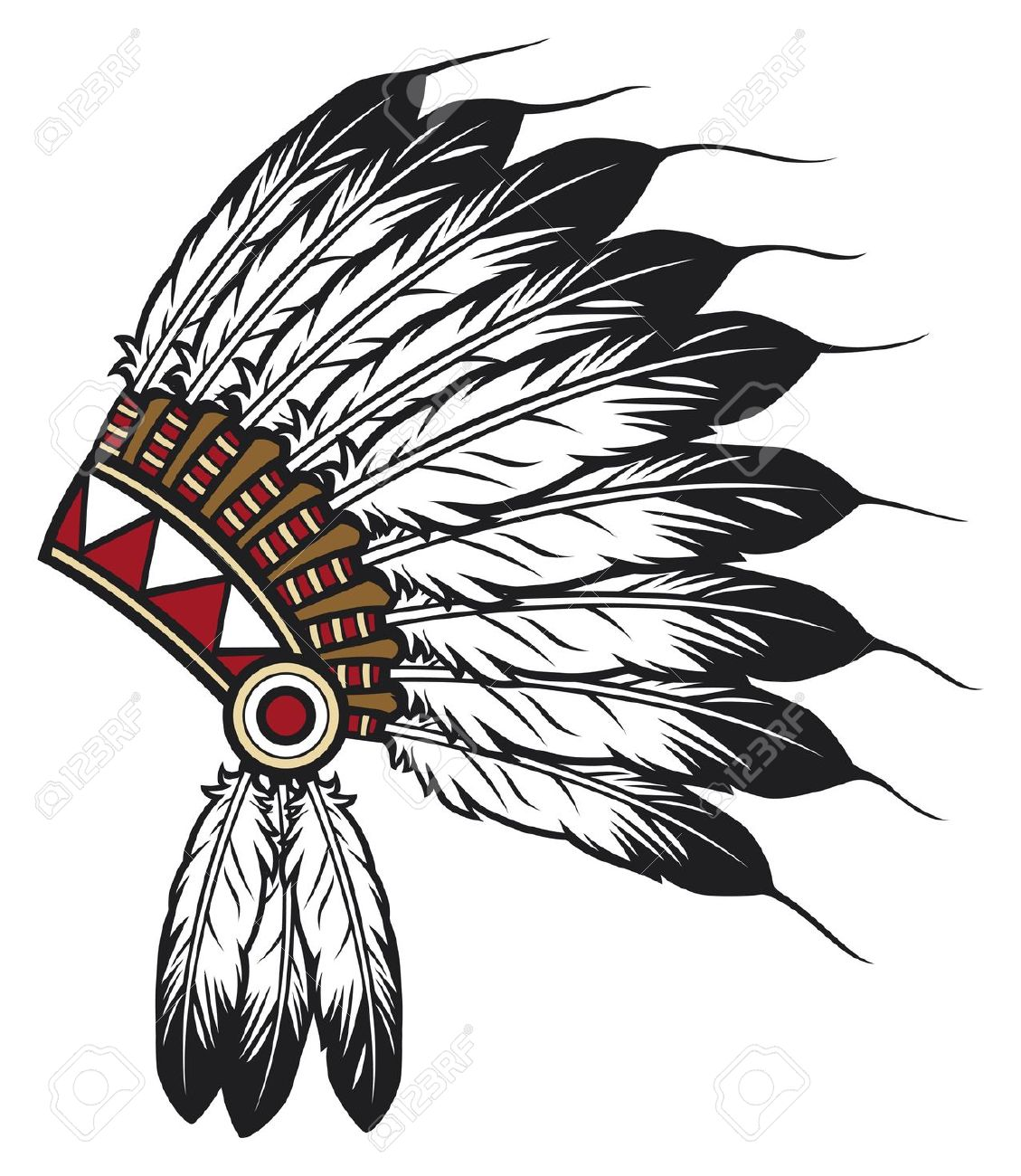 Cherokee indian clipart.
