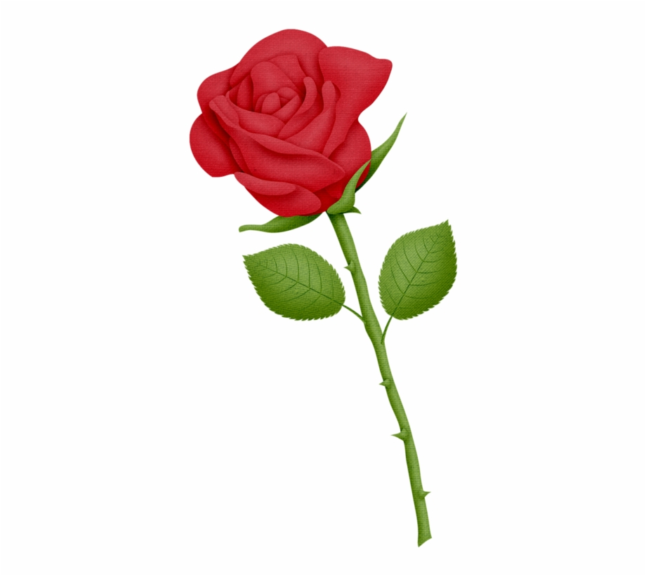 Red Rose Clipart Art Craft.