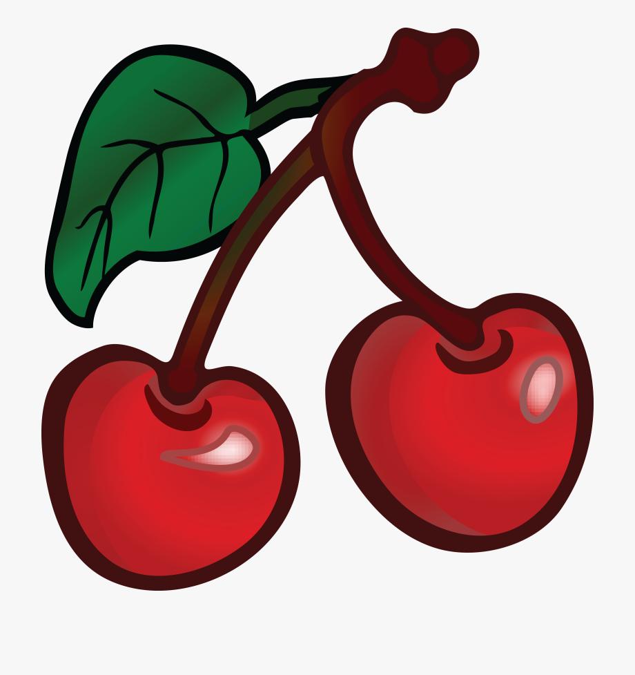 Free Clipart Of Cherries.