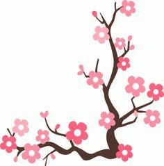 Cherry Blossom Clip Art Border Free.