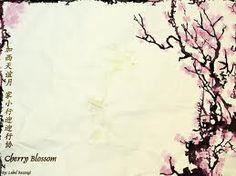 Free Cherry Blossom Border Clip Art.