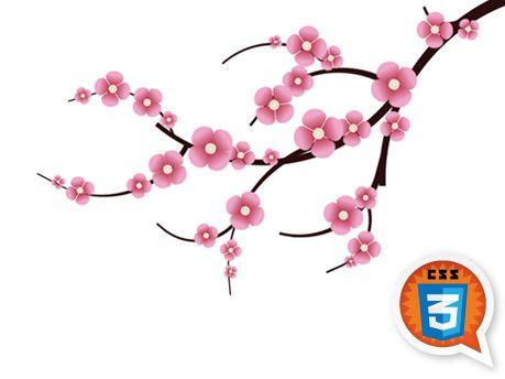Cherry Blossom Clipart #1.