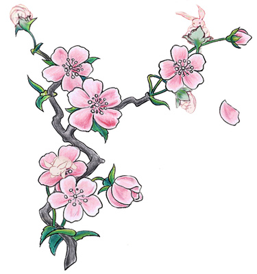 Free Cartoon Cherry Blossom Tree, Download Free Clip Art.