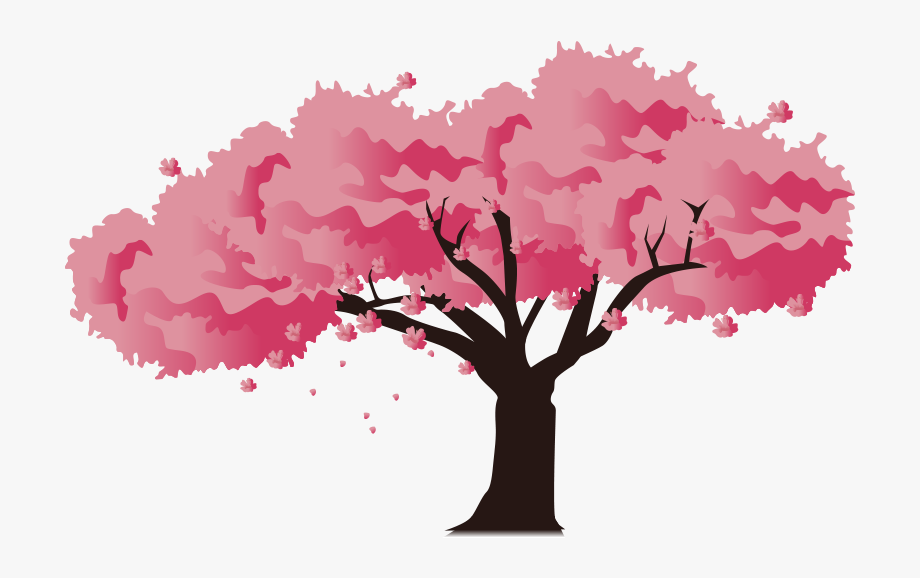 Pink Blossom Cherry National Festival Japan Icon Clipart.