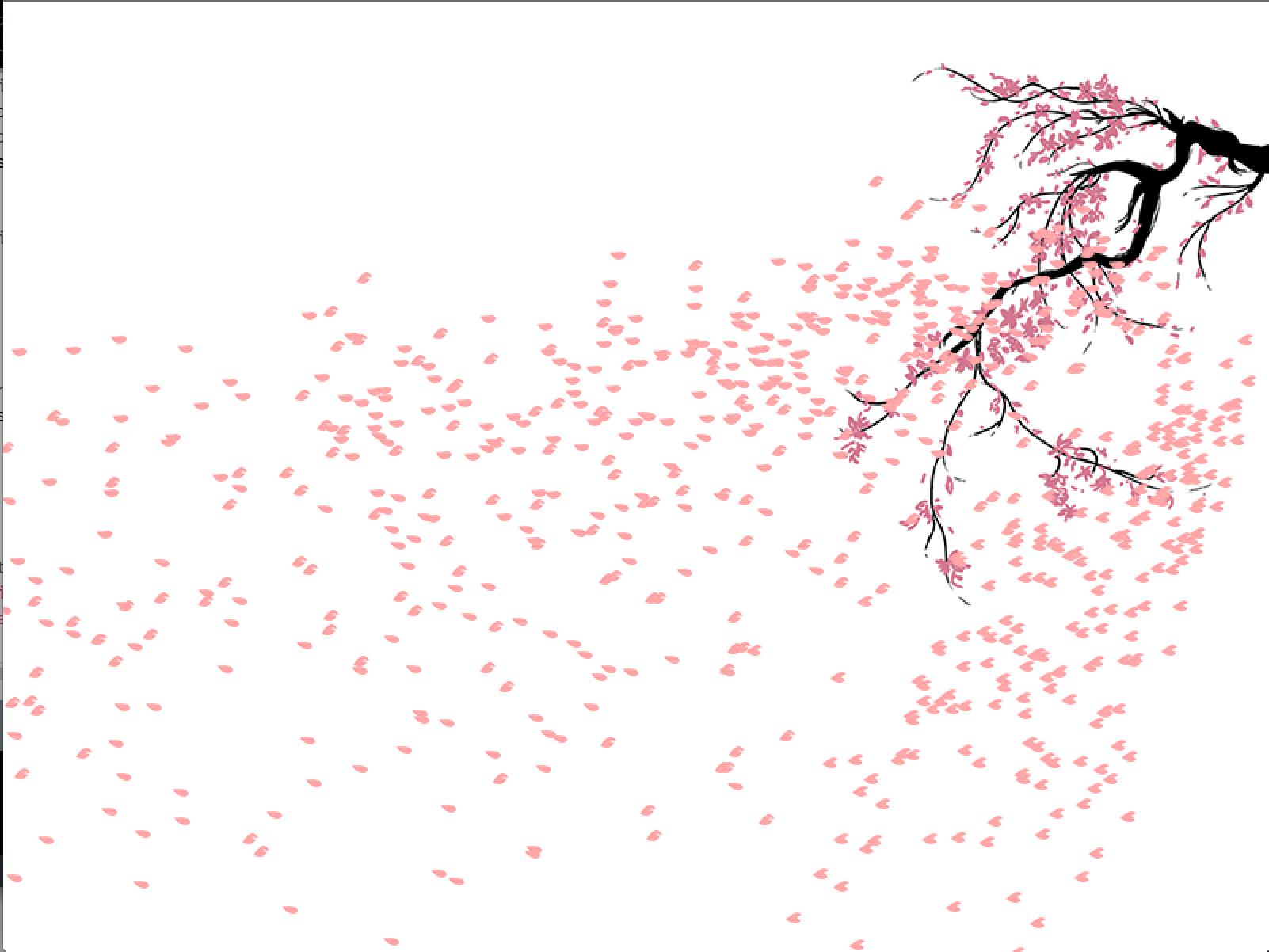 Cherry Blossom Petals Png (+).
