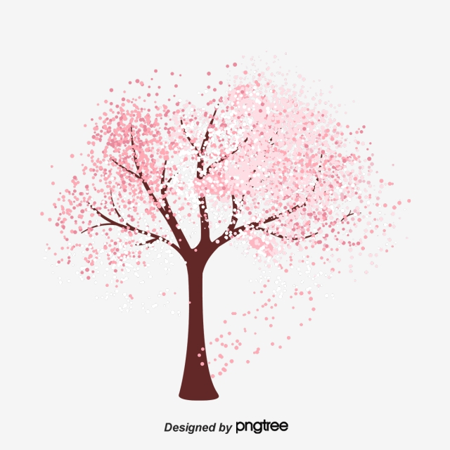 Cherry Blossom Tree PNG Images.