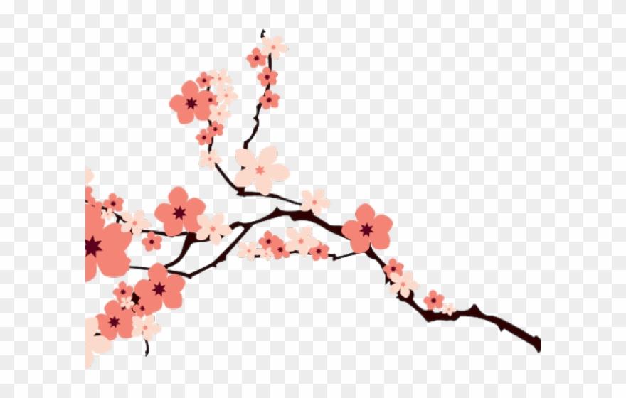 Cherry Blossom Clipart File.