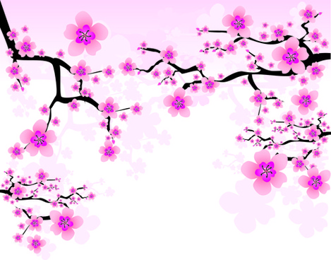 Japanese Cherry Blossom Vector at GetDrawings.com.