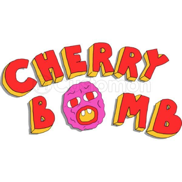 Cherry Bomb Logo Baby Onesies.