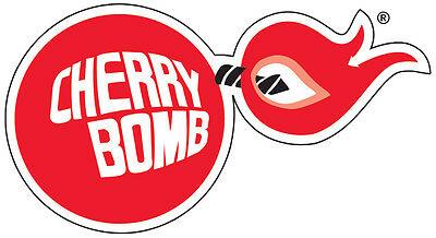 CHERRY BOMB RACING Vintage Vinyl Decal / Sticker ** 5 Sizes **.