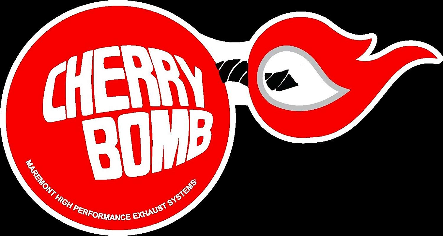 ION Graphics Cherry Bomb Maremont Exhaust Old School Hot Rod Muscle Car  Performance Sticker.