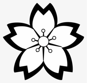 Lily, Flower, Blossom, Outline.