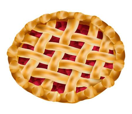 6,274 Cherry Pie Cliparts, Stock Vector And Royalty Free Cherry Pie.