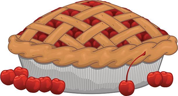 Best Cherry Pie Illustrations, Royalty.