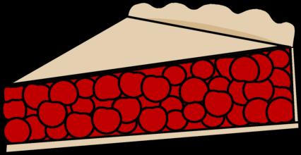 Cherry Pie Clipart.