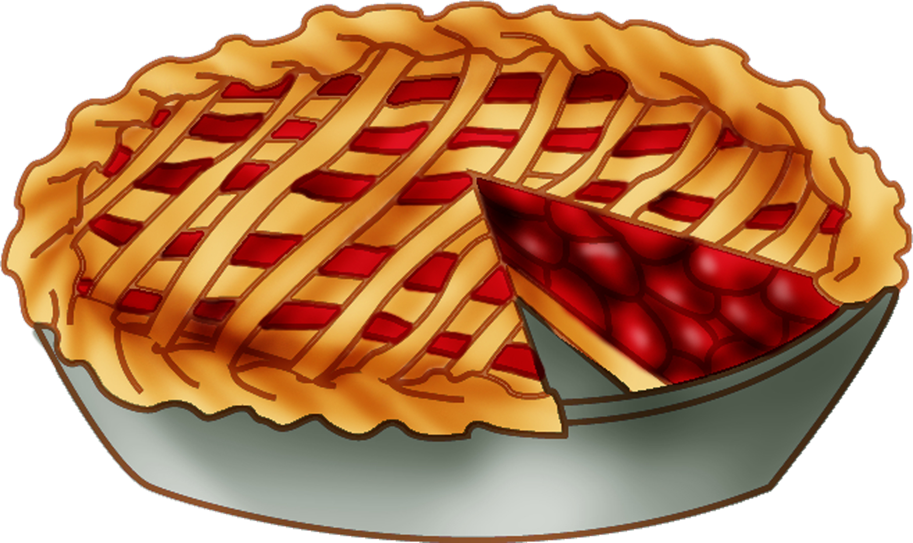 Clipart cherry pie day.