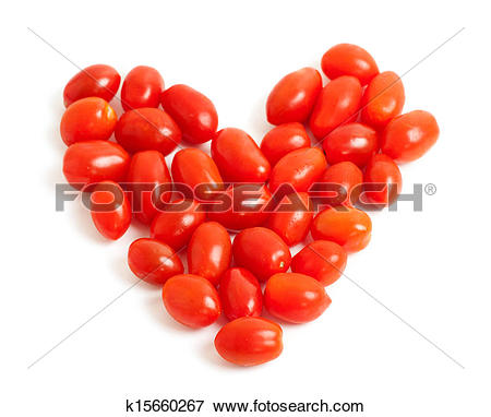 Picture of Cherry plum tomato Heart k15660267.