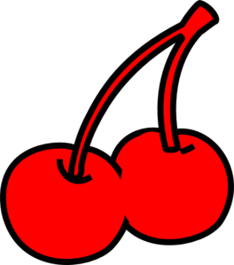 Cliparts Red Cherry Clipart.