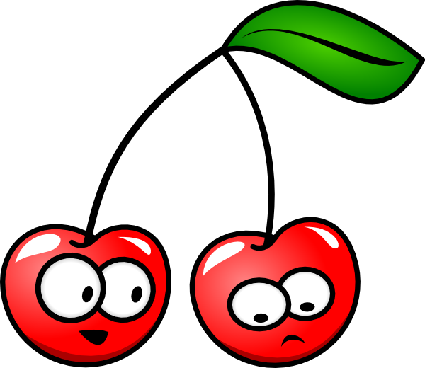 Cherries Cartoon.