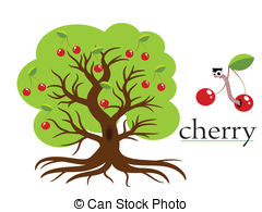 Cherry tree Clipart and Stock Illustrations. 6,699 Cherry tree.