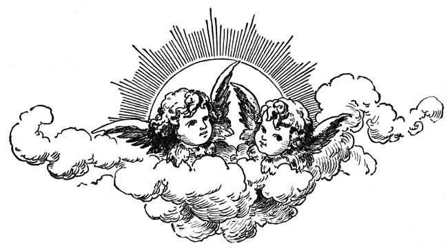 Clipart , Christian clipart by images of cherubs.