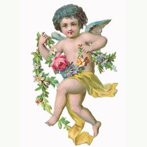 Cherubs Angels Clipart.