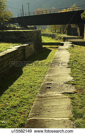 Stock Photograph of Harpers Ferry, WV, West Virginia, Chesapeake.