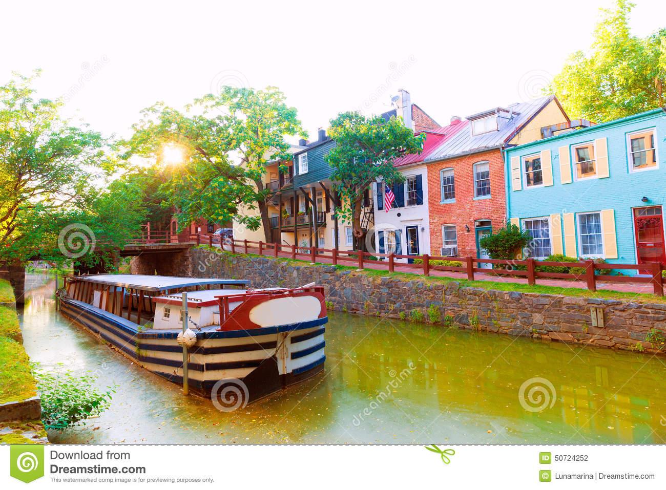Chesapeake & Ohio Canal National Historical Park Maryland Stock.