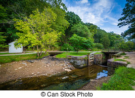 Stock Photo of The C & O Canal, at Chesapeake & Ohio Canal.