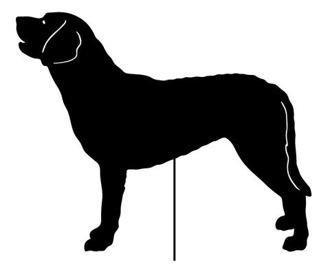 Image result for chesapeake bay retriever silhouette.
