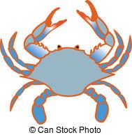 Chesapeake Bay Crab Clipart.