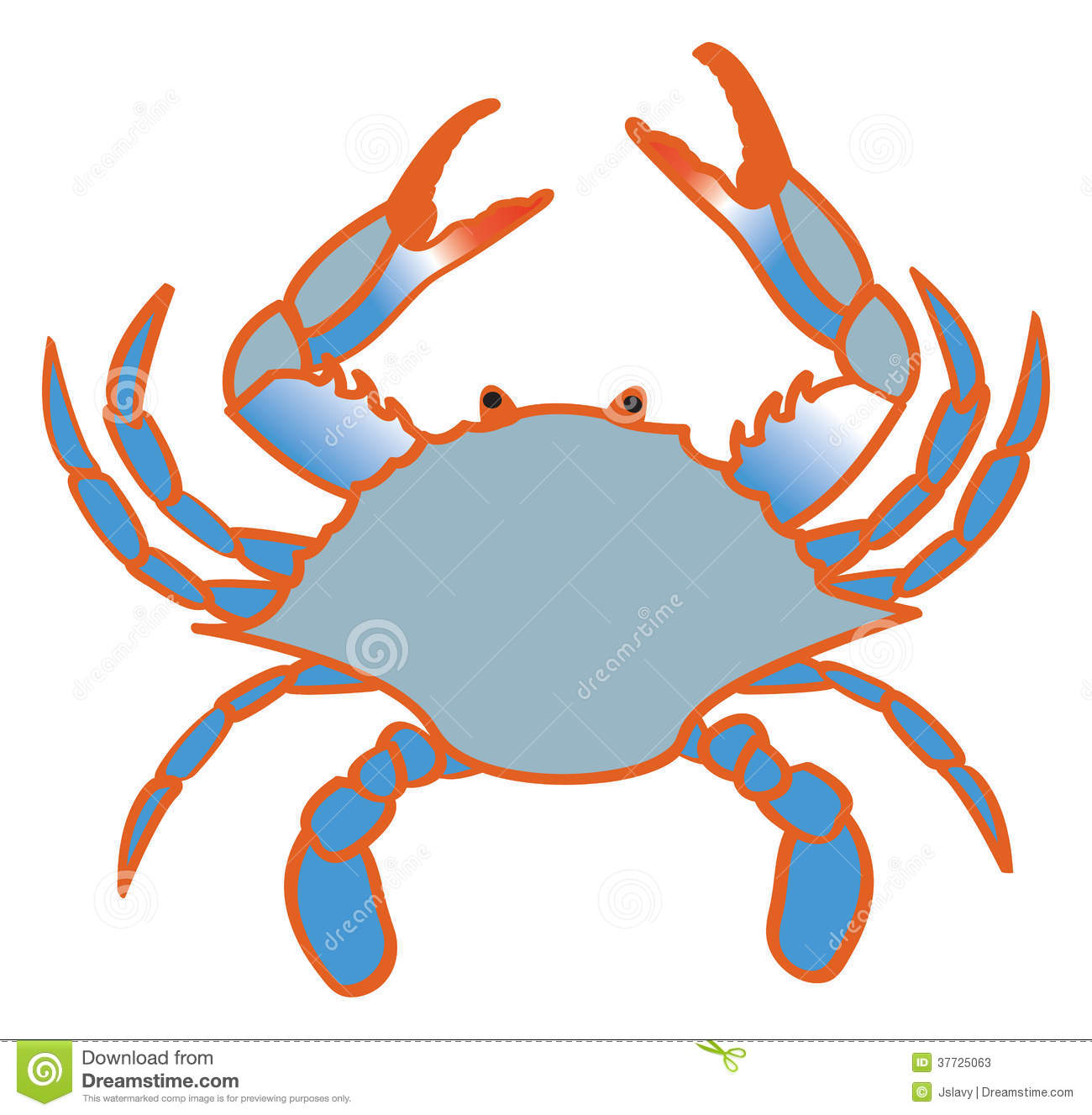 Blue Crab Stock Photos.