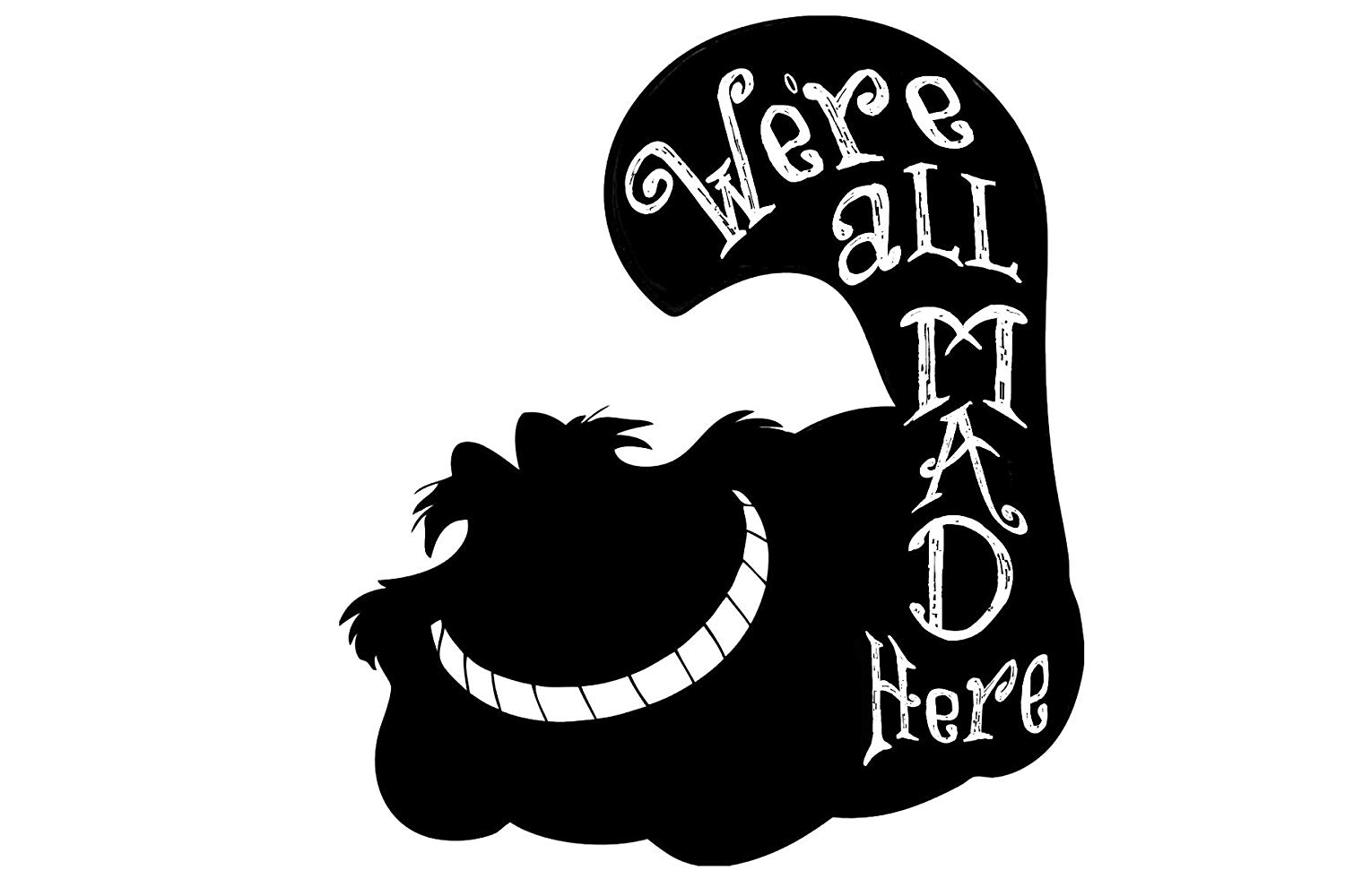 Kreative Decals Alice in Wonderland.
