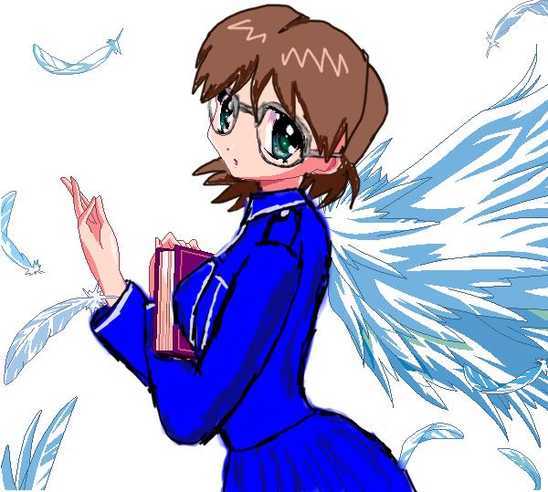 Cheska the Book Angel by Shizuru.